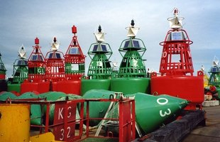 Several types of buoys exist for different purposes.