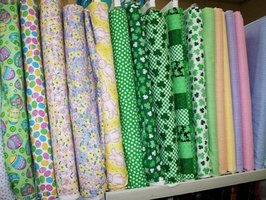 Start your own fabric store.