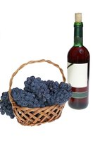 Make your own grape wine at home with a few basic ingredients.