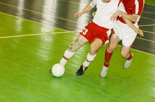 Soccer players often need to be more aggressive than their opponents to succeed..