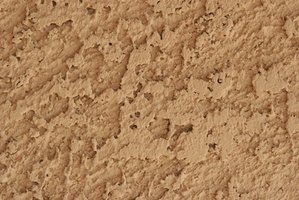 Stucco can be textured with a texturing tool or your trowel.