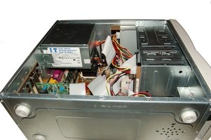 Learn to take apart a Sony Vaio desktop.
