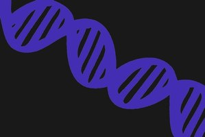 DNA is a double-helix structure.