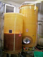 Fermentation produces ethanoic (acetic) acid.