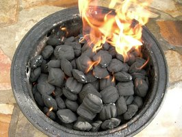 Make your own portable charcoal grill.