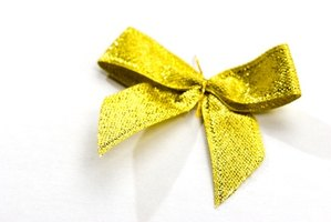 A ribbon makes a simple yet fashionable hair accessory.