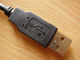 Typical USB cord