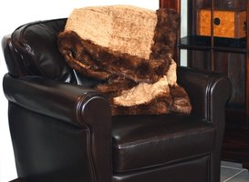 Leather chairs are a comfortable and elegant addition to any room.