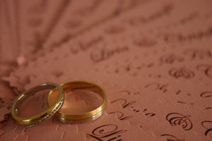 Learn how to abide by wedding invitation etiquette.