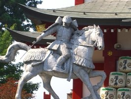 Statue of a Samurai Warrior