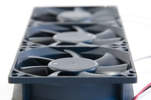 Exhaust fans help remove vapors from the home.