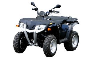 The Honda Foreman is a fun and fast 4 wheeler.