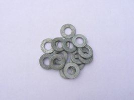 Flat washers may be used for many applications.