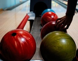 Host a teen's birthday party at a bowling alley.