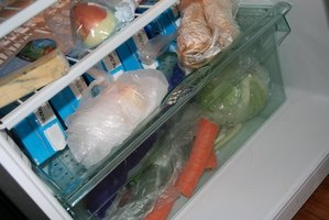 Adjust the freezer to a colder setting if food doesn't freeze.