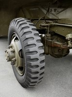 This military truck axle has a pinion seal similar to the one in pickups and SUVs.