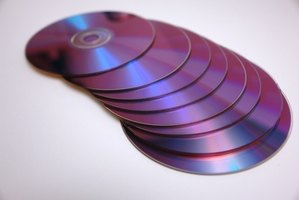 Music and video on a website can be recorded to a CD or DVD.