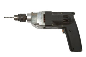 A standard electric drill