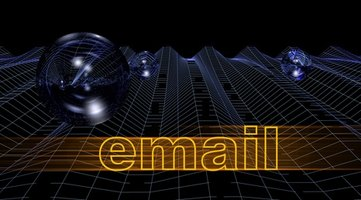 Use HTML to create email links.