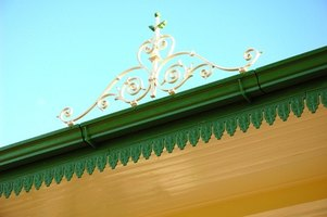 Installing guttering requires physical effort and experience