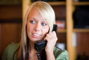 A receptionist is often the customer's first point of contact.