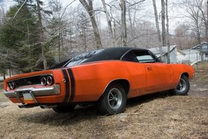1968 Dodge Chargers could be had with the famous 440 Six Pack engine.