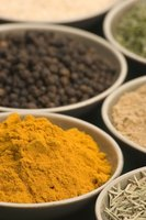 Turmeric and other plants act as medicine in India.