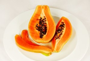 The weather of Florida is most suited to growing papaya.