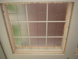 Window grids are easy to install and add a decorative touch.