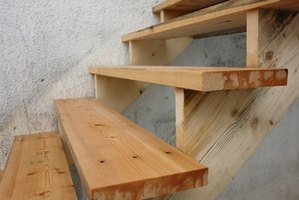 Build Porch Deck Stairs