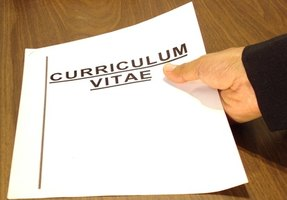 A summary can be the introduction to your CV.