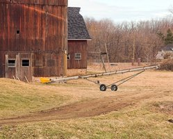 Starting a small farm requires start-up capital and farm equipment.