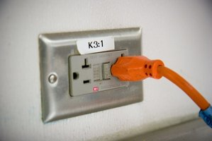 A switch can control the flow of power to an outlet.