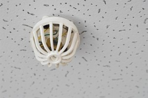 Drop tiles like these may not be necessary if you take time to add an interesting treatment to your ceiling.