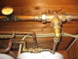Low pH levels in well water can corrode plumbing systems.