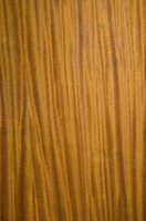 Walnut veneers have a striking grain and deep, rich color.
