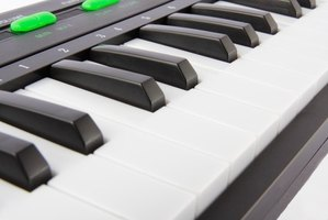 MIDI keyboards can mimic other instruments.