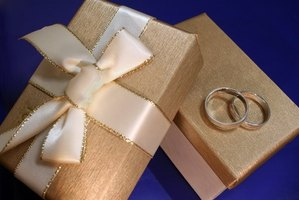 Send your wedding gift before or after the destination wedding.