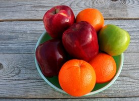 Fruits are a healthy source of vitamins.