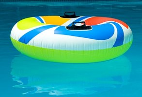 Pool liners are available in dark and light colors.
