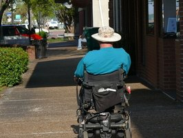 You don't have to be in a wheelchair to qualify for disability.