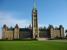 The Canadian Parliament where tax laws are made