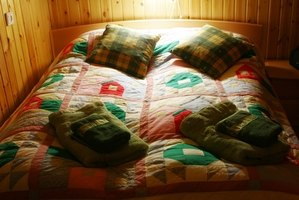 Say goodbye to cold sheets by installing a heater in your waterbed.