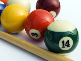 Poker billiards also is known as pokerball.