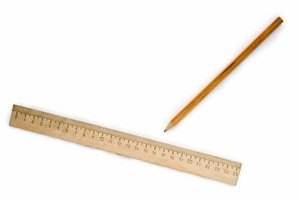 Use a ruler to measure pile height and distance to calculate angle of repose.