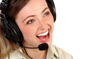 Standard operating procedures may dictate the type of headset an agent wears.