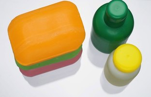 Soap and detergents are different products used for the same purpose.