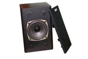 studio monitor vs bookshelf speaker ehow. Black Bedroom Furniture Sets. Home Design Ideas