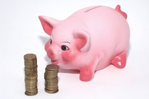 Piggy banks don't earn dividends, so invest your savings online for higher yields.