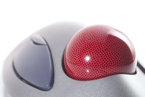 Regularly clean the trackball to keep it in good working condition.